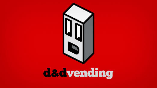 D&D Vending Alternate Logo Concept