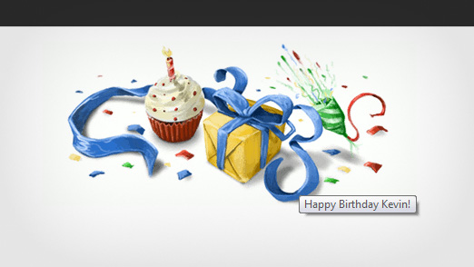 Birthday Doodle from Google