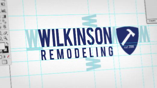 Wilkinson Remodeling Logo Illustrator
