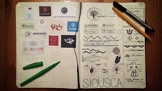 Siousca Branding Logo Development